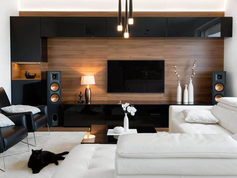 Trending Modern Living Room Ideas Murchie Constructions